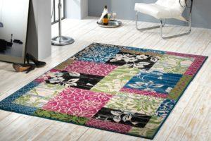 Romantický patchworkový koberec PARADISE
