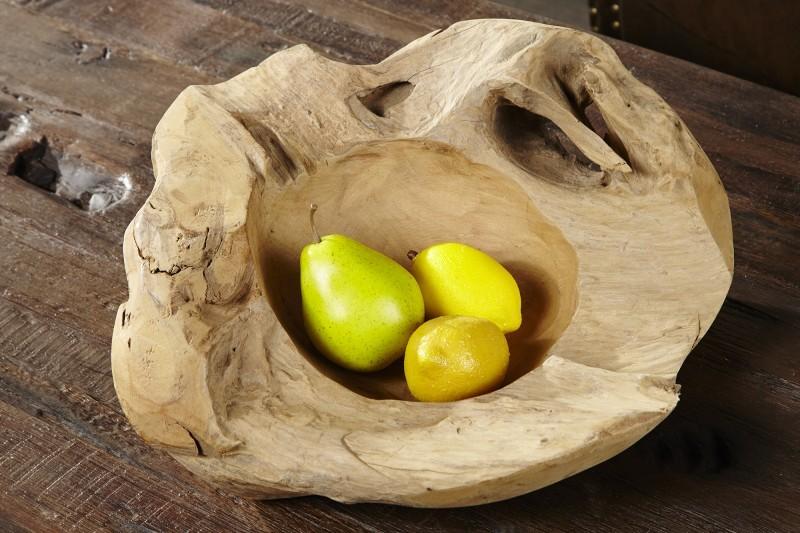 misa SCHALE z tíkového dreva