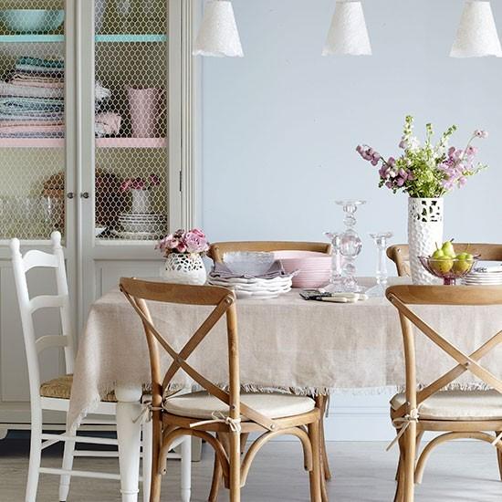 Jedáleň v štýle vintage