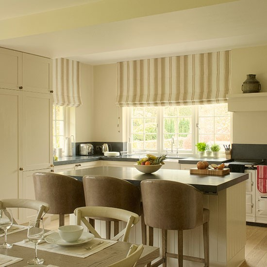 Kuchyna s barovymi stolickami