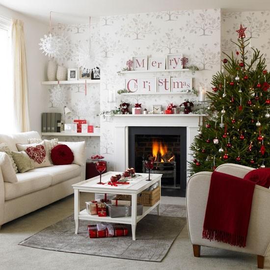 Vianočné dekorácie vo vidieckom štýle