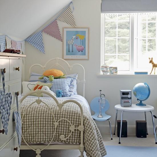 Detska izba vo vidieckom style