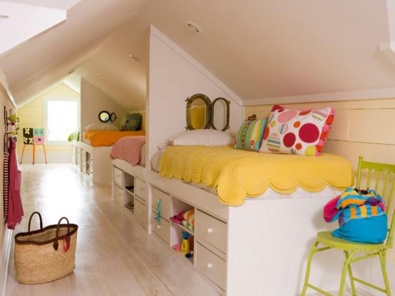 Detska izba v podkrovi
