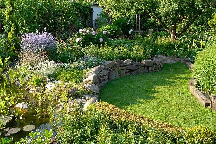Zahrada vo vidieckom style